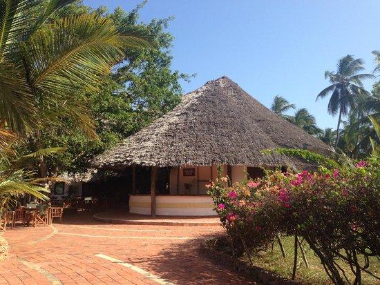 Dongwe Club: Il bar della piscina/spiaggia