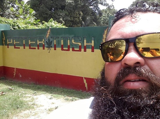 Peter Tosh Monument : Peter Tosh will live forever!