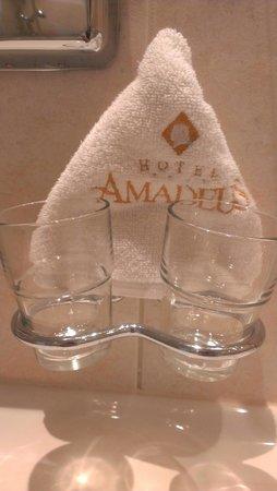 Hotel Amadeus : Este detalle nos da una idea de lo cuidadosos que son.