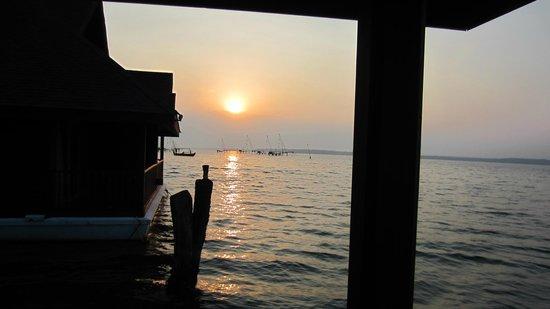 Club Mahindra Ashtamudi: The Sunrise...