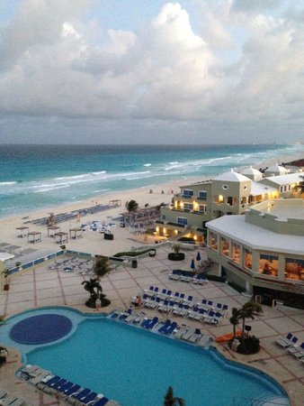 Gran Caribe Resort: view from GM suite