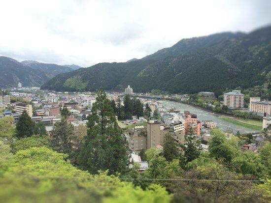Hidasanso: 景色はいいよ