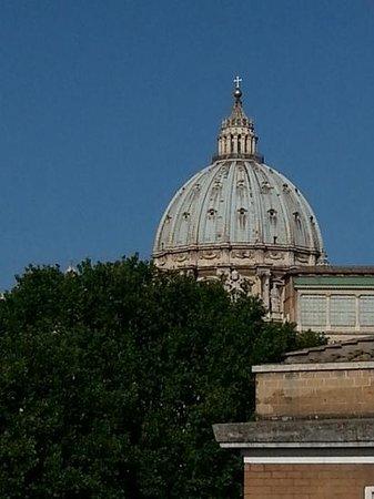 Vatican View: Splendida vista dal terrazzo !