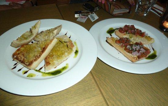 Brownes: Mixed bruschetta