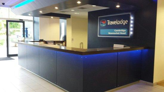 Travelodge Cambridge Newmarket Road: Reception