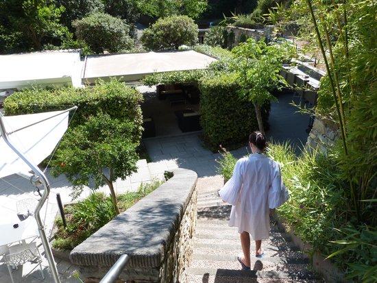 Eden Rock Resort: Les escaliers