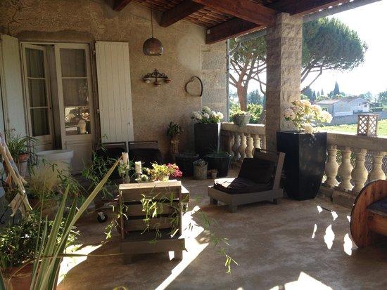 Villa Saint Patrice : La Terrasse
