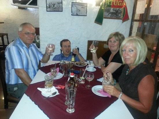 Restaurante A Grelha : Great night.