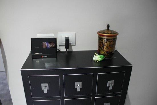 Hotel Santa Brigida : Мини-станция для iPod