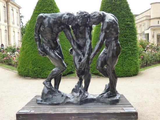 Musée Rodin : Rodin's The Three Shades - 1881
