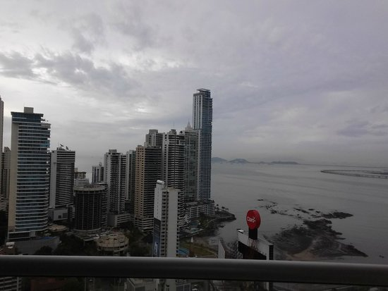 Hard Rock Hotel Panama Megapolis: view from 34th floor