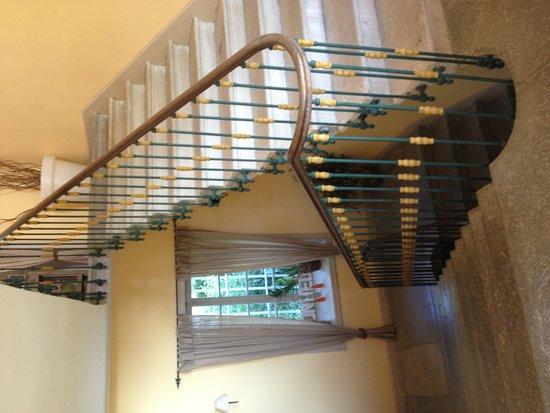 Villa Saint Patrice : Le grand escalier