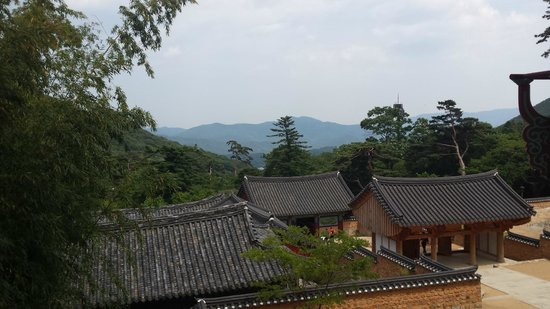 Beomeosa-Tempel: Scenic view from the temple
