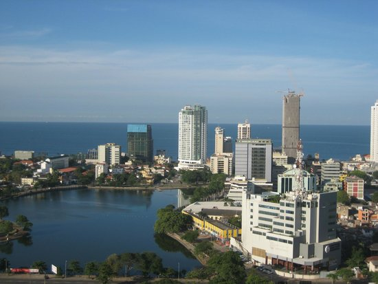 Hilton Colombo Residence : Vista da minha suite!