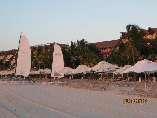 Grand Velas Riviera Maya: Beach