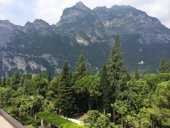 Du Lac et Du Parc Grand Resort: Blick von Dachterrasse
