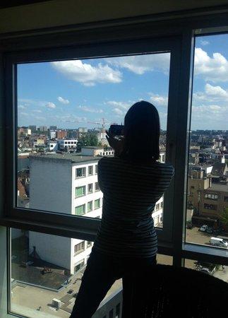 Lindner Hotel & City Lounge Antwerpen: Ausblick