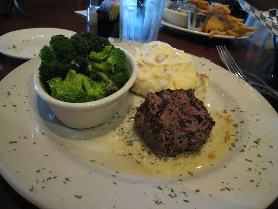 Bullfish Grill: Filet Medallion