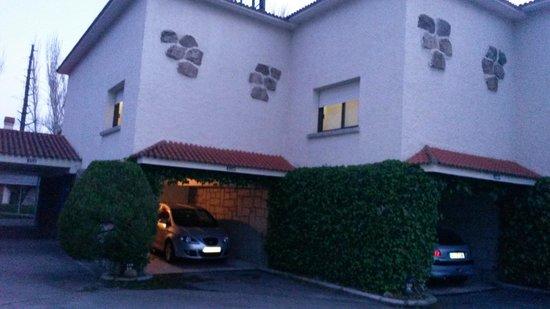 Gran Hotel Los Angeles: ¡parking perfecto!