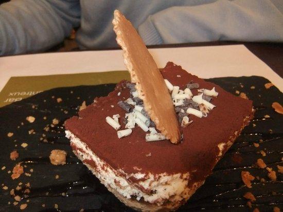 Hotel-Restaurant de la Rouvenaz : Tiramisu