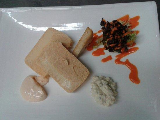 Restaurante San Fermin: Pastel de cabracho