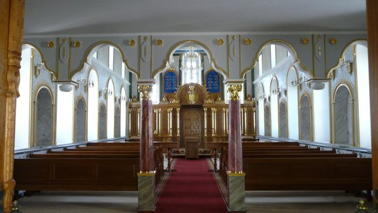 Karaite Kenesa of Yevpatoria: Зал для молитв