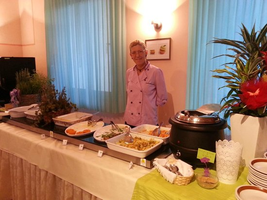 Hotel Luxor : Barbara, la Cuoca Vegan