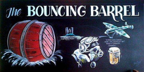 The Bouncing Barrel: The Pub Wall!