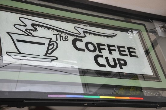 The Coffee Cup - Olas Altas : The Coffee Cup Sign