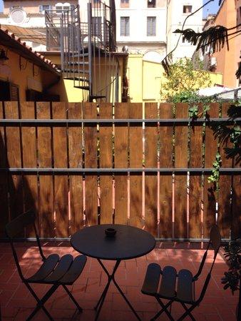 Casa Campo de' Fiori: Wonderful terrace