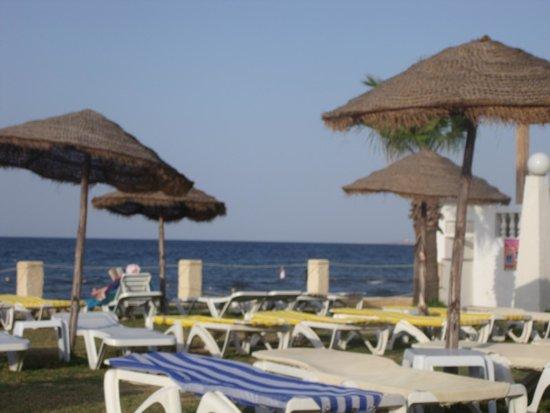 Alassio Hotel and Thalasso : La plage