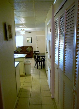 Sea Isle Village: View of condo#57 from bedroom