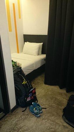 Grid 9 Hotel: 1tes Einzelzimmer