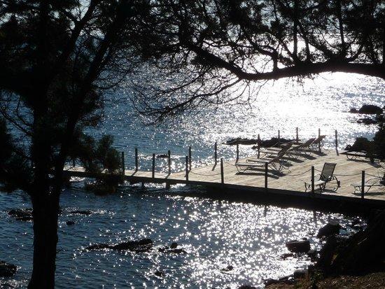 Residence U Paviddonu : Le ponton