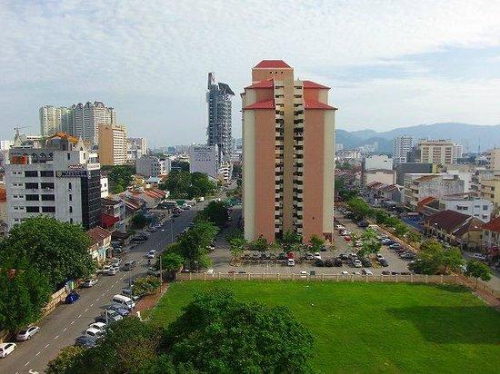 Tune Hotel Georgetown Penang: 眺望