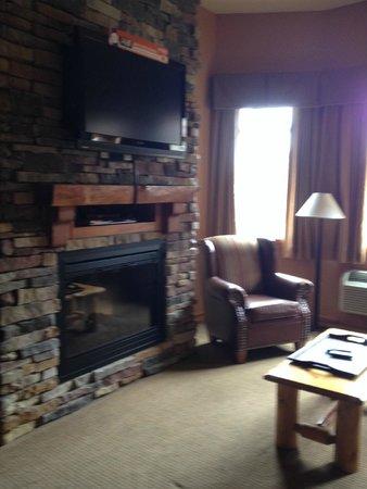 Wilderness at the Smokies Resort: Living Room