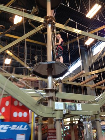 Wilderness at the Smokies Resort: Ropes Course, Adventure Forest