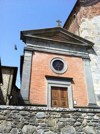 Bucine, Italie : Cappella settecentesca della Chiesa di San Pietro di Badia a Ruoti