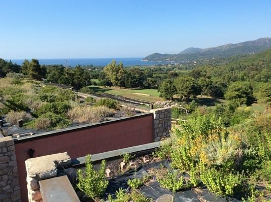AllegroItalia Golf Elba: vista dal terrazzo