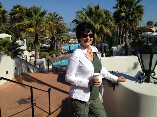 The Ritz-Carlton Bacara, Santa Barbara: Happy me