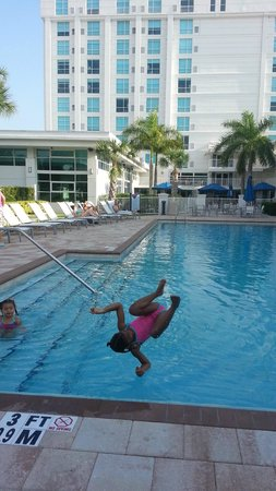 Crowne Plaza Tampa Westshore : Flip!