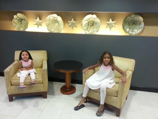 Crowne Plaza Tampa Westshore: My two little ladie's