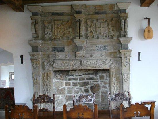 Donegal Castle: Castle Fireplace