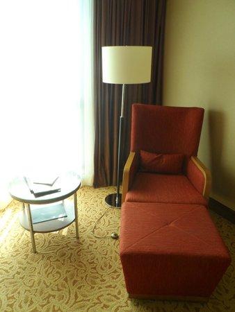Istanbul Marriott Hotel Asia: Кушетка