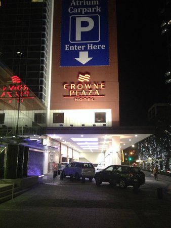 Crowne Plaza Auckland : Entrance