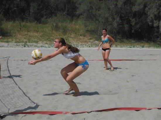 Adriano Camping Village: beach volley