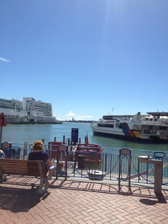 Crowne Plaza Auckland: Harbor view at Marina