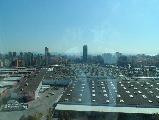 Istanbul Marriott Hotel Asia: вид, смотреть вдаль