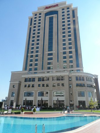 Istanbul Marriott Hotel Asia: Готель собственно