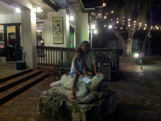Green Turtle Inn : Riding the waves on the Green Turtle